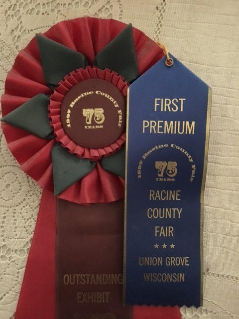 ribbons from county fair – UrbanFarmU