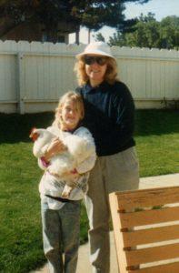 Sara childhood hen