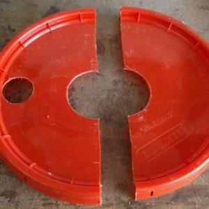 Raymond Jess Grow Buckets: bucket half lid