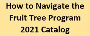 Catalog Navigation instructions